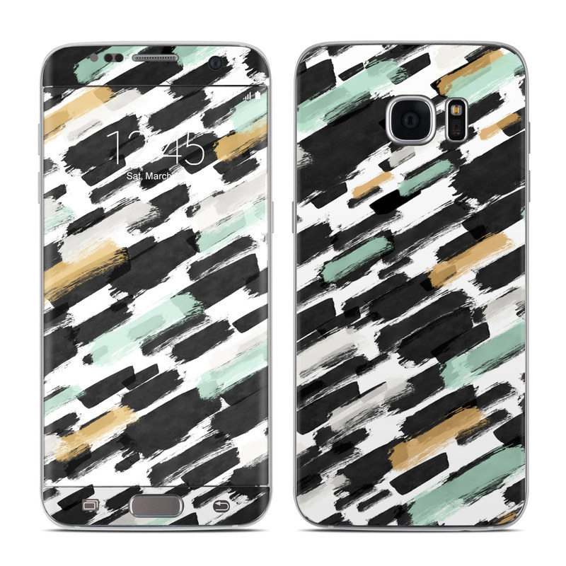 Brushin Up Galaxy S7 Edge Skin