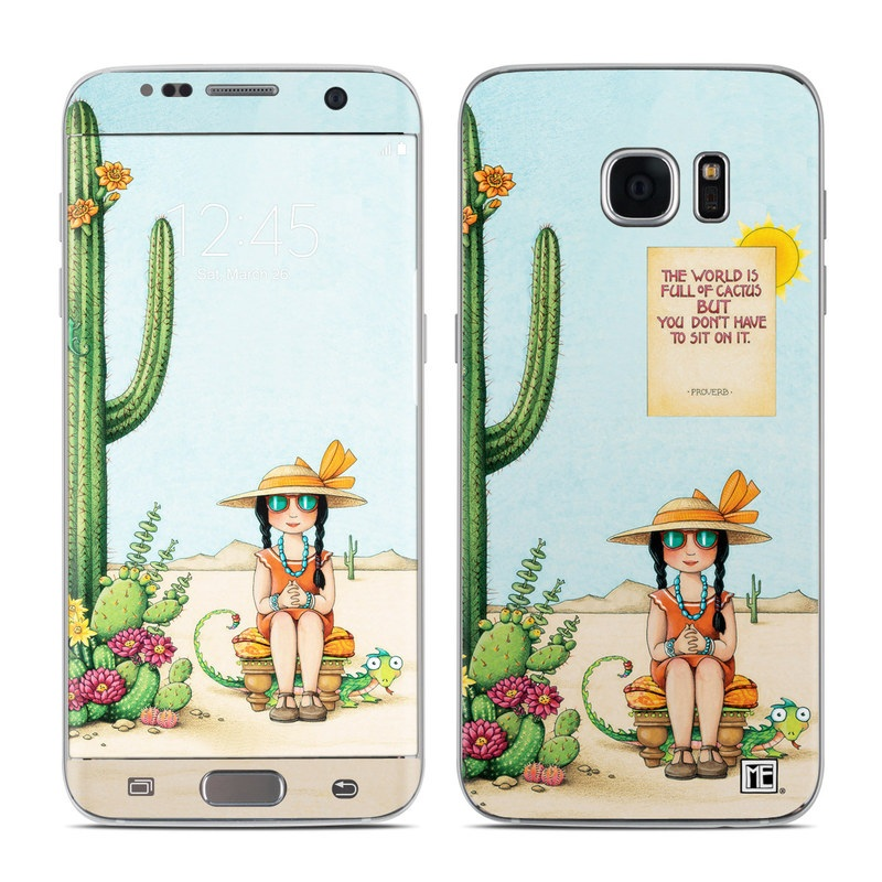 Cactus Galaxy S7 Edge Skin