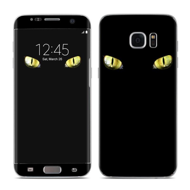 Cat Eyes Galaxy S7 Edge Skin