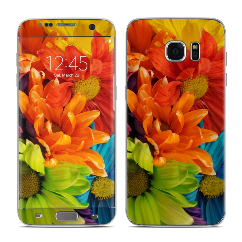 Colours Galaxy S7 Edge Skin