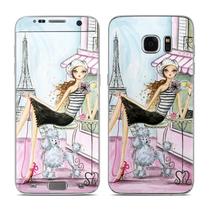 Cafe Paris Galaxy S7 Edge Skin