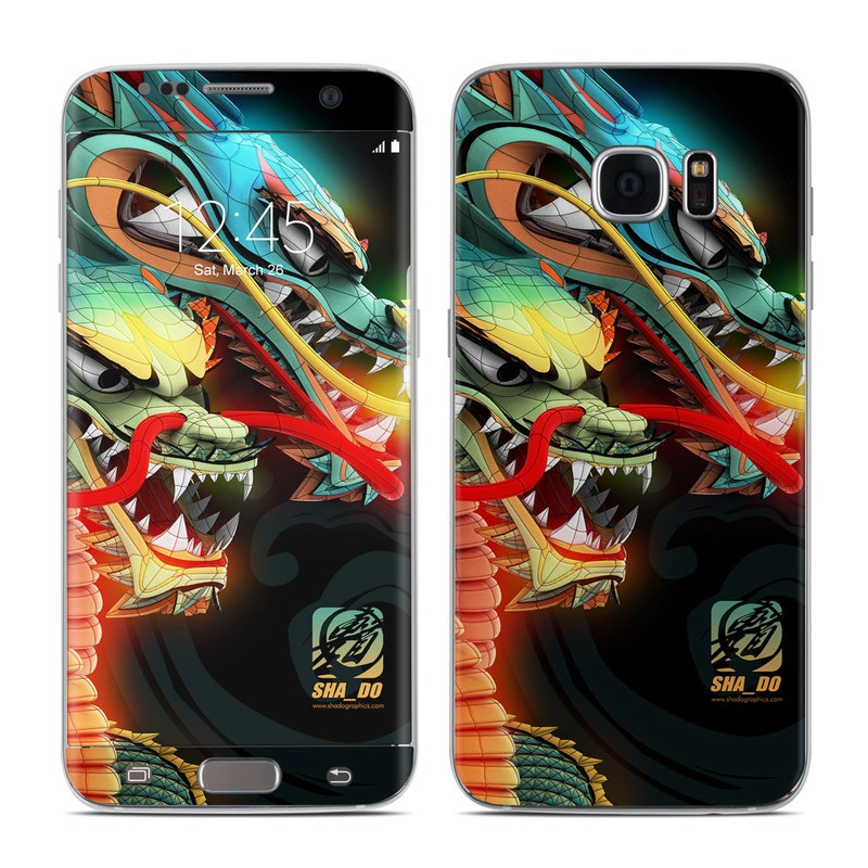 Dragons Galaxy S7 Edge Skin