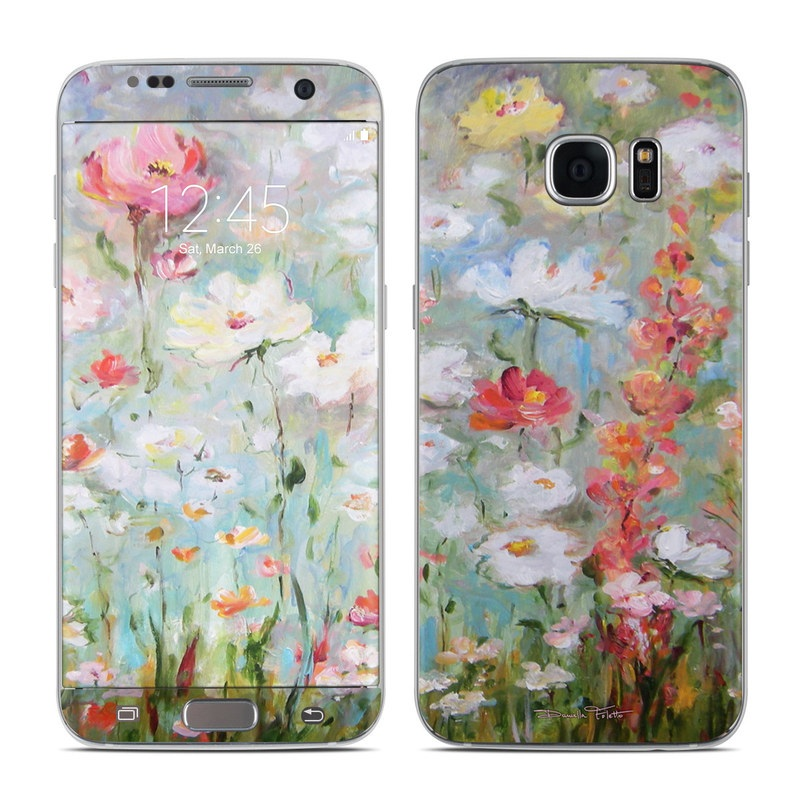 Flower Blooms Galaxy S7 Edge Skin