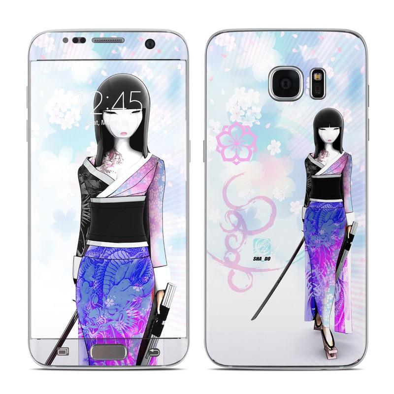 Kokeshi Haru Galaxy S7 Edge Skin