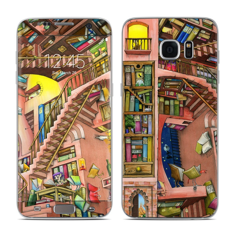 Library Magic Galaxy S7 Edge Skin