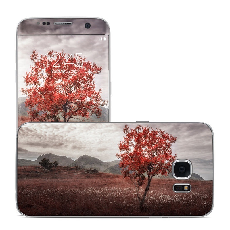 Lofoten Tree Galaxy S7 Edge Skin