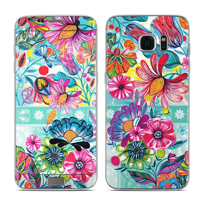 Lovely Garden Galaxy S7 Edge Skin