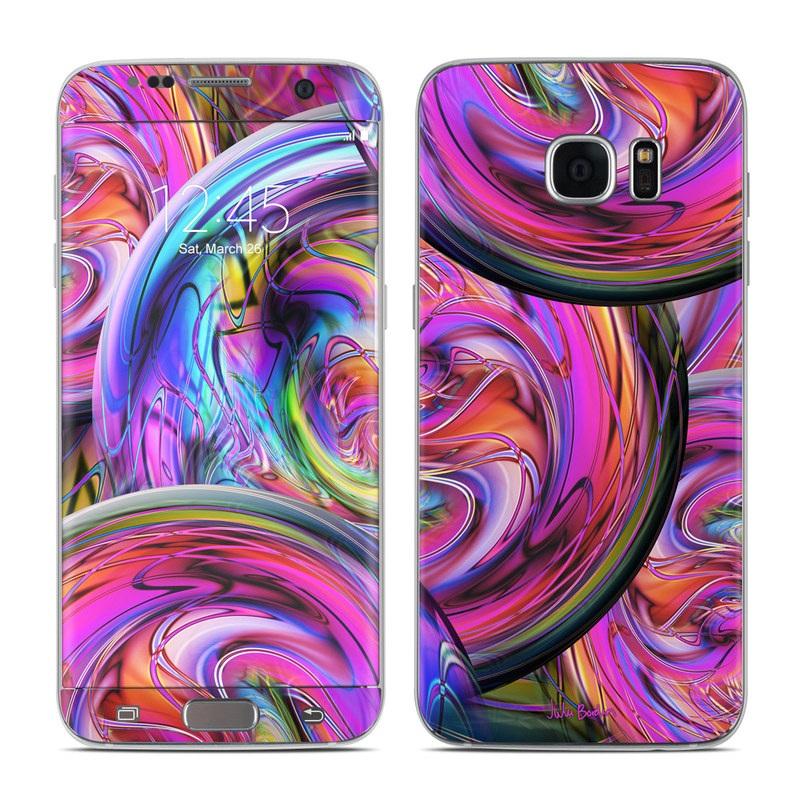 Marbles Galaxy S7 Edge Skin