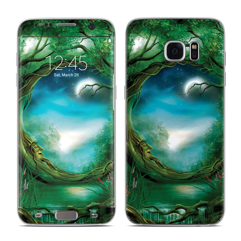 Moon Tree Galaxy S7 Edge Skin