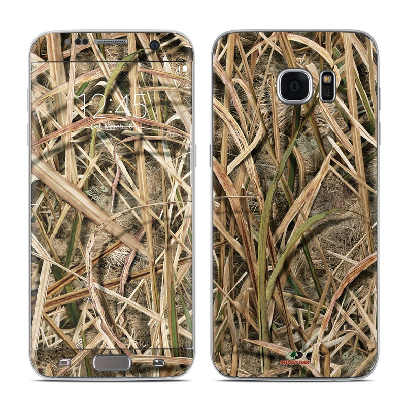 Samsung Galaxy S7 Edge Skin design of Grass, Straw, Plant, Grass family, Twig, Adaptation, Agriculture with black, green, gray, red colors
