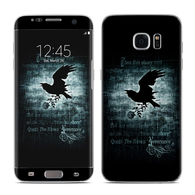 Nevermore Galaxy S7 Edge Skin