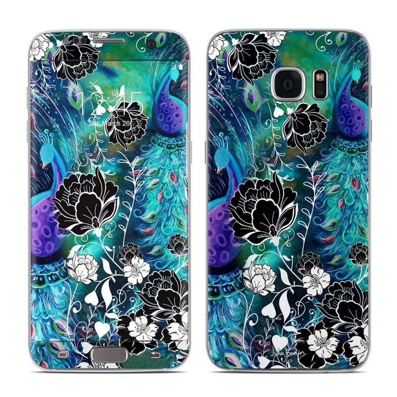 Peacock Garden Galaxy S7 Edge Skin