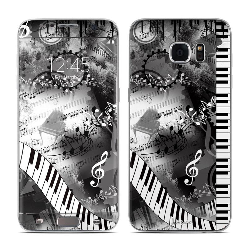 Piano Pizazz Galaxy S7 Edge Skin