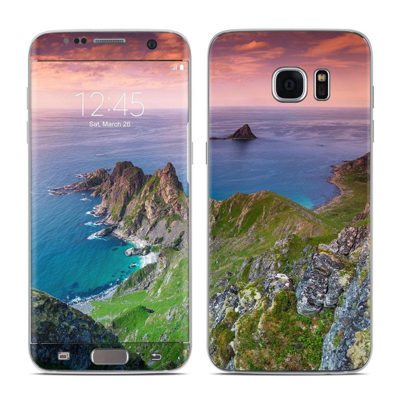 Rocky Ride Galaxy S7 Edge Skin