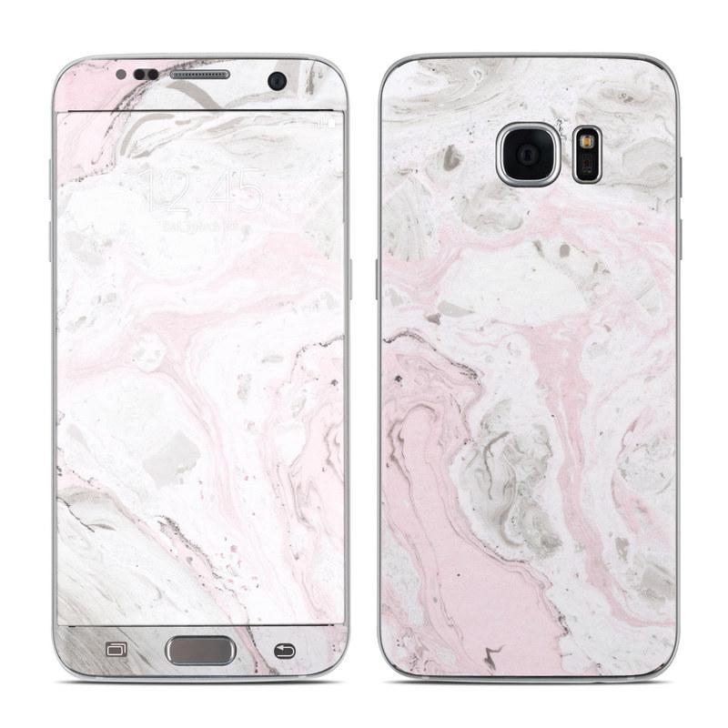 Rosa Marble Galaxy S7 Edge Skin