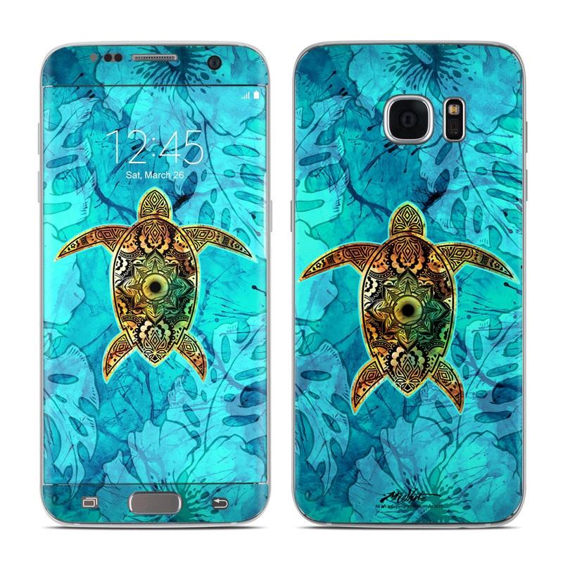Sacred Honu Galaxy S7 Edge Skin