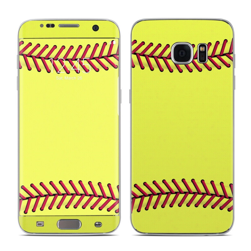 Softball Galaxy S7 Edge Skin
