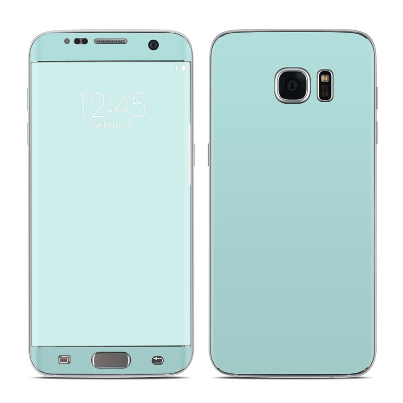 Solid State Mint Galaxy S7 Edge Skin