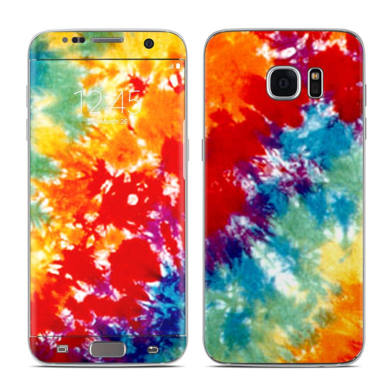 Tie Dyed Galaxy S7 Edge Skin