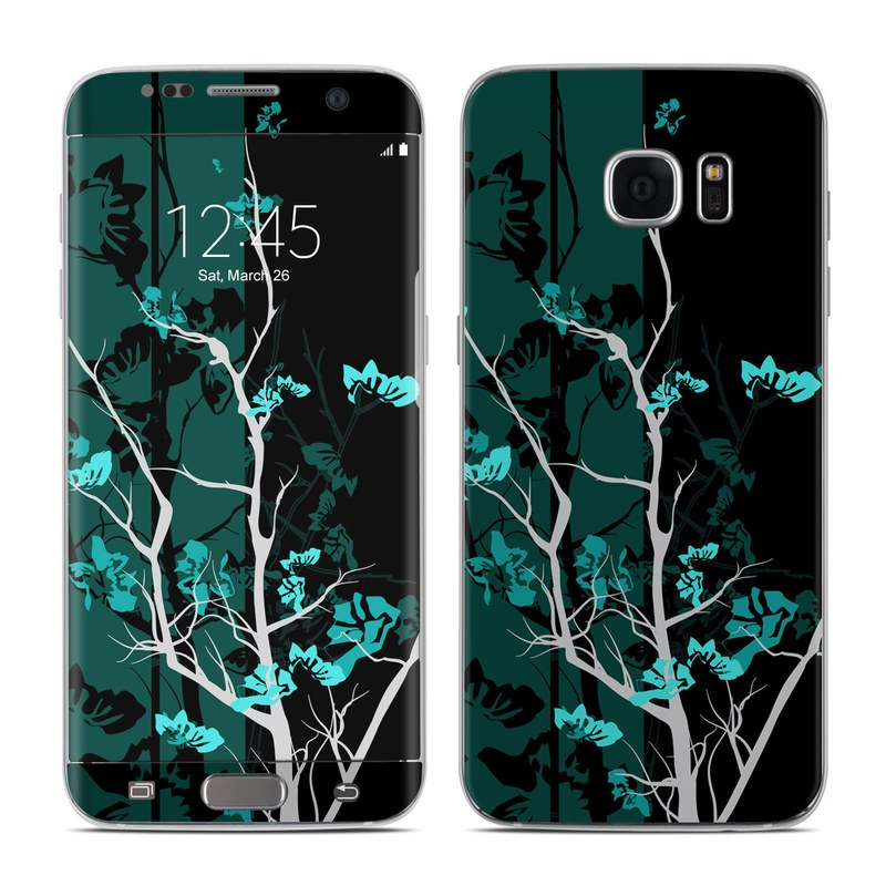 Aqua Tranquility Galaxy S7 Edge Skin