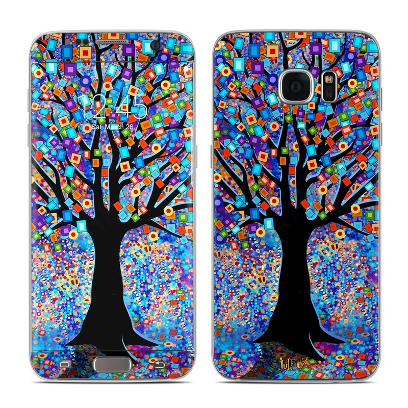 Tree Carnival Galaxy S7 Edge Skin