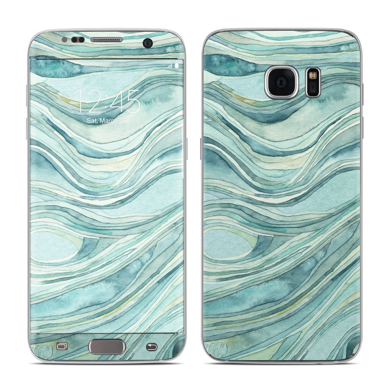 Waves Galaxy S7 Edge Skin