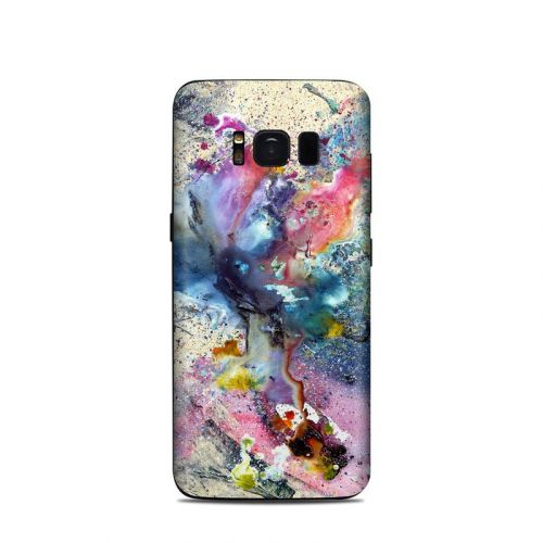 Cosmic Flower Samsung Galaxy S8 Skin