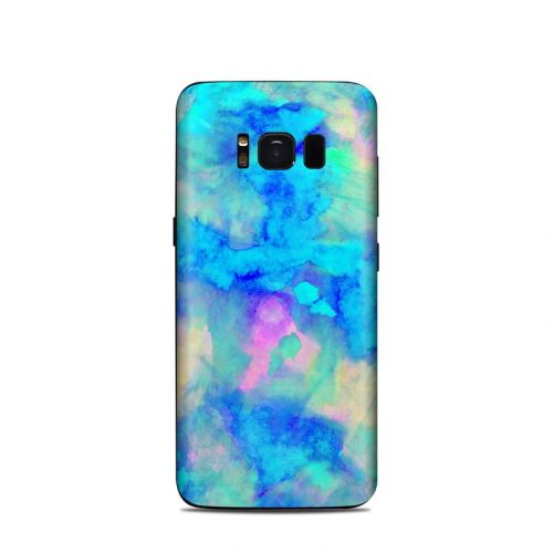 Electrify Ice Blue Samsung Galaxy S8 Skin