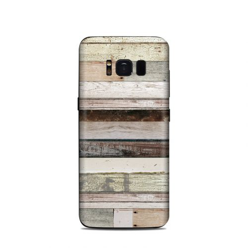 Eclectic Wood Samsung Galaxy S8 Skin