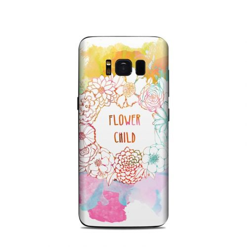 Flower Child Samsung Galaxy S8 Skin