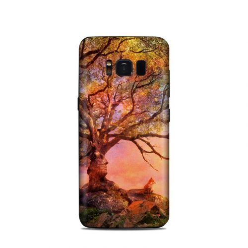 Fox Sunset Samsung Galaxy S8 Skin