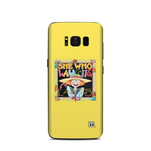 She Who Laughs Samsung Galaxy S8 Skin