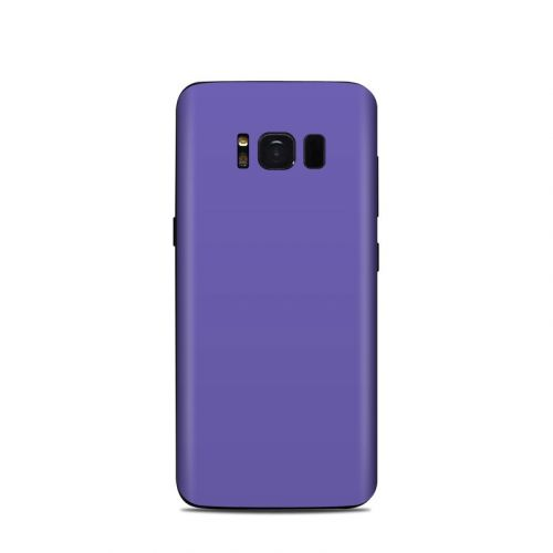 Solid State Purple Samsung Galaxy S8 Skin