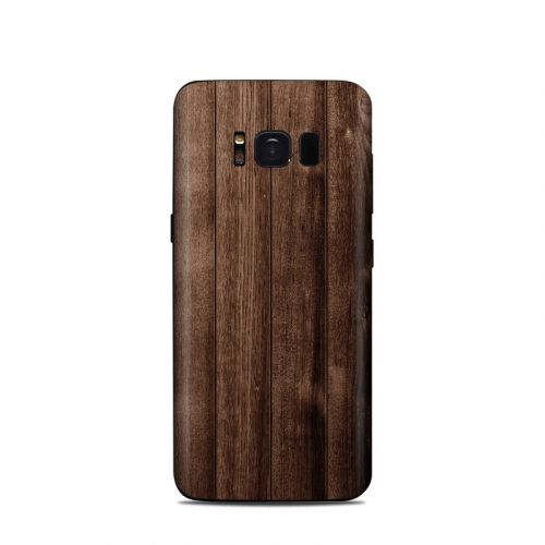 Stained Wood Samsung Galaxy S8 Skin