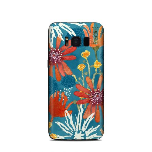 Sunbaked Blooms Samsung Galaxy S8 Skin