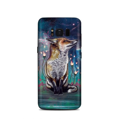 There is a Light Samsung Galaxy S8 Skin
