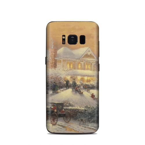 Victorian Christmas Samsung Galaxy S8 Skin