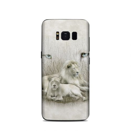 White Lion Samsung Galaxy S8 Skin
