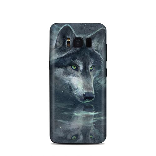 Wolf Reflection Samsung Galaxy S8 Skin