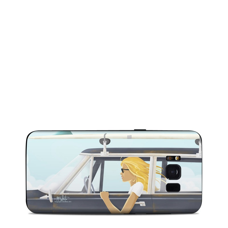 Anticipation Samsung Galaxy S8 Skin