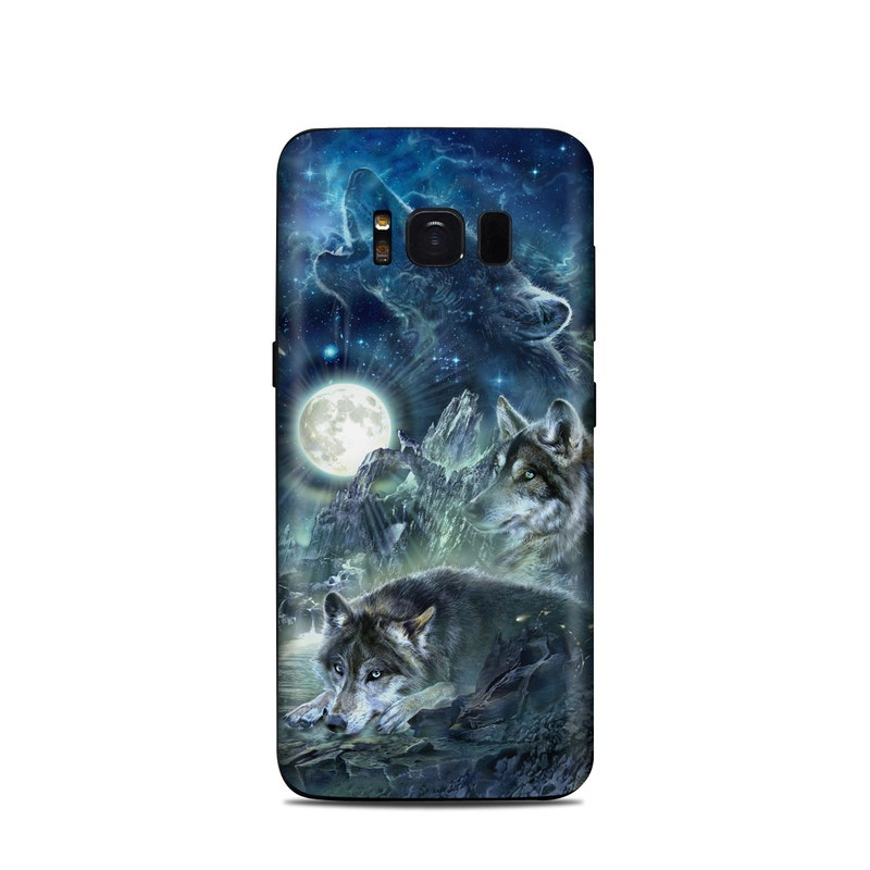 Bark At The Moon Samsung Galaxy S8 Skin
