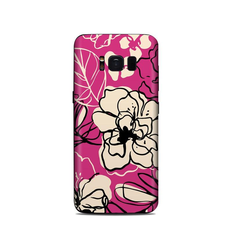 Black Lily Samsung Galaxy S8 Skin