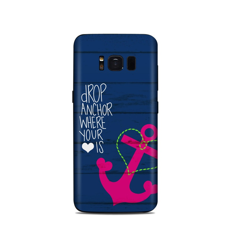 Drop Anchor Samsung Galaxy S8 Skin