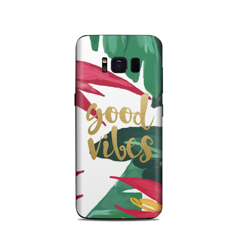 Good Vibes Samsung Galaxy S8 Skin