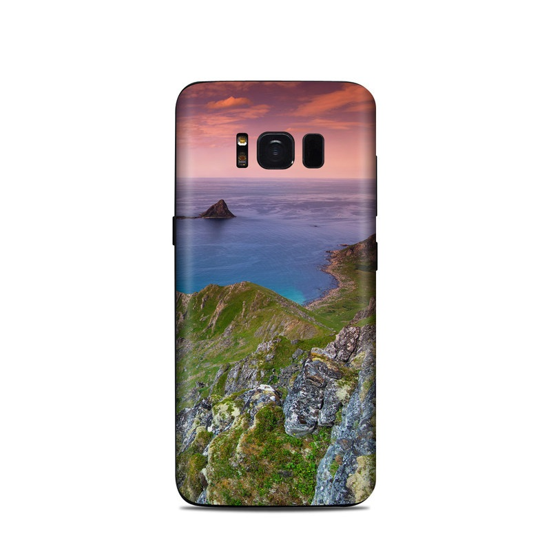 Rocky Ride Samsung Galaxy S8 Skin
