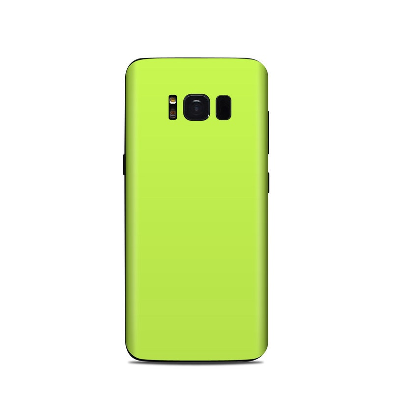 Solid State Lime Samsung Galaxy S8 Skin