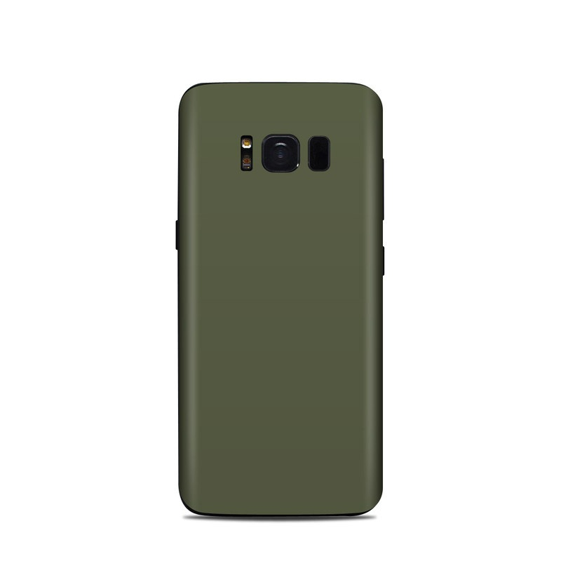 Samsung Galaxy S8 Skin design of Green, Brown, Text, Yellow, Grass, Font, Pattern, Beige with green colors