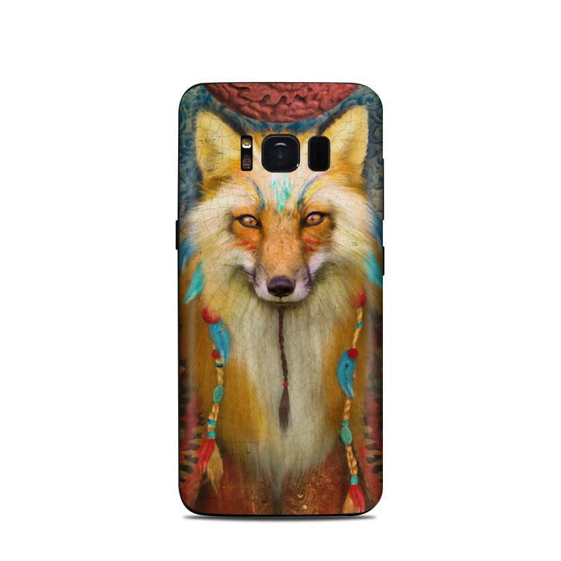 Wise Fox Samsung Galaxy S8 Skin