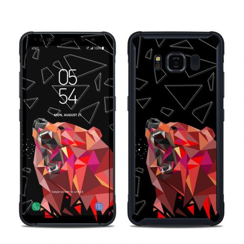 Bears Hate Math Samsung Galaxy S8 Active Skin