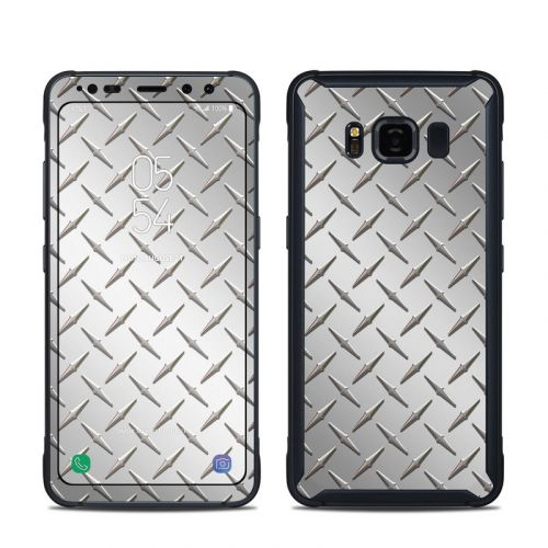 Diamond Plate Samsung Galaxy S8 Active Skin